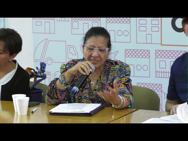 Discurso de la Presidenta de la CDHCDMX en Participación, Arte y Cultura Incluyente