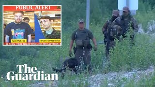 Manhunt for Canadian murder suspects focuses on Manitoba after sightings in Gillam