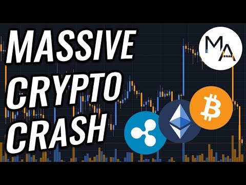 Bitcoin & Crypto Markets CRASHING Hard! Will We Bounce?! BTC, ETH, XRP, BCH & Cryptocurrency News!