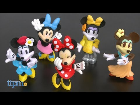 Disney Minnie Mouse Collectible Mini Figures Blind Bag From Just Play
