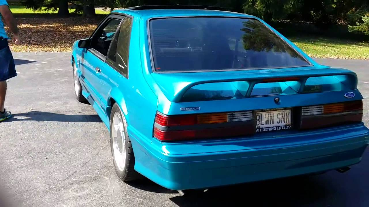 Awesome 550hp 1993 supercharged teal cobra for sale see this short walkaround