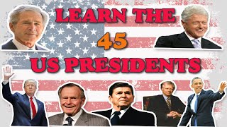 US Presidents | Timeline of USA Presidents | U.S History