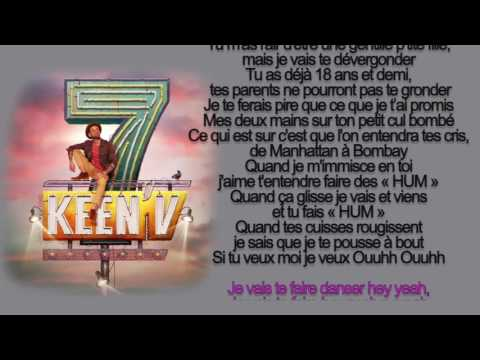 keen'v - je vais te faire (officiel video lyrics )