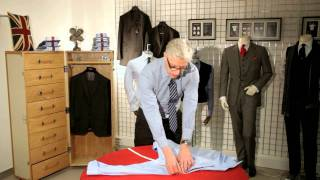 How to Measure Yourself for the Perfect T.M.Lewin Shirt Fit