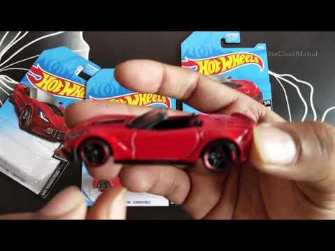 HotWheels  -#/ - HW Roadsters / - Corvette C Z Convertible (Red) FYC DCE