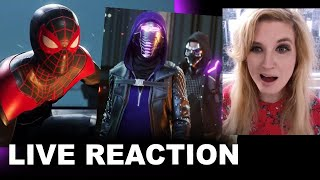 Spider-Man Miles Morales PS5 Gameplay Demo REACTION