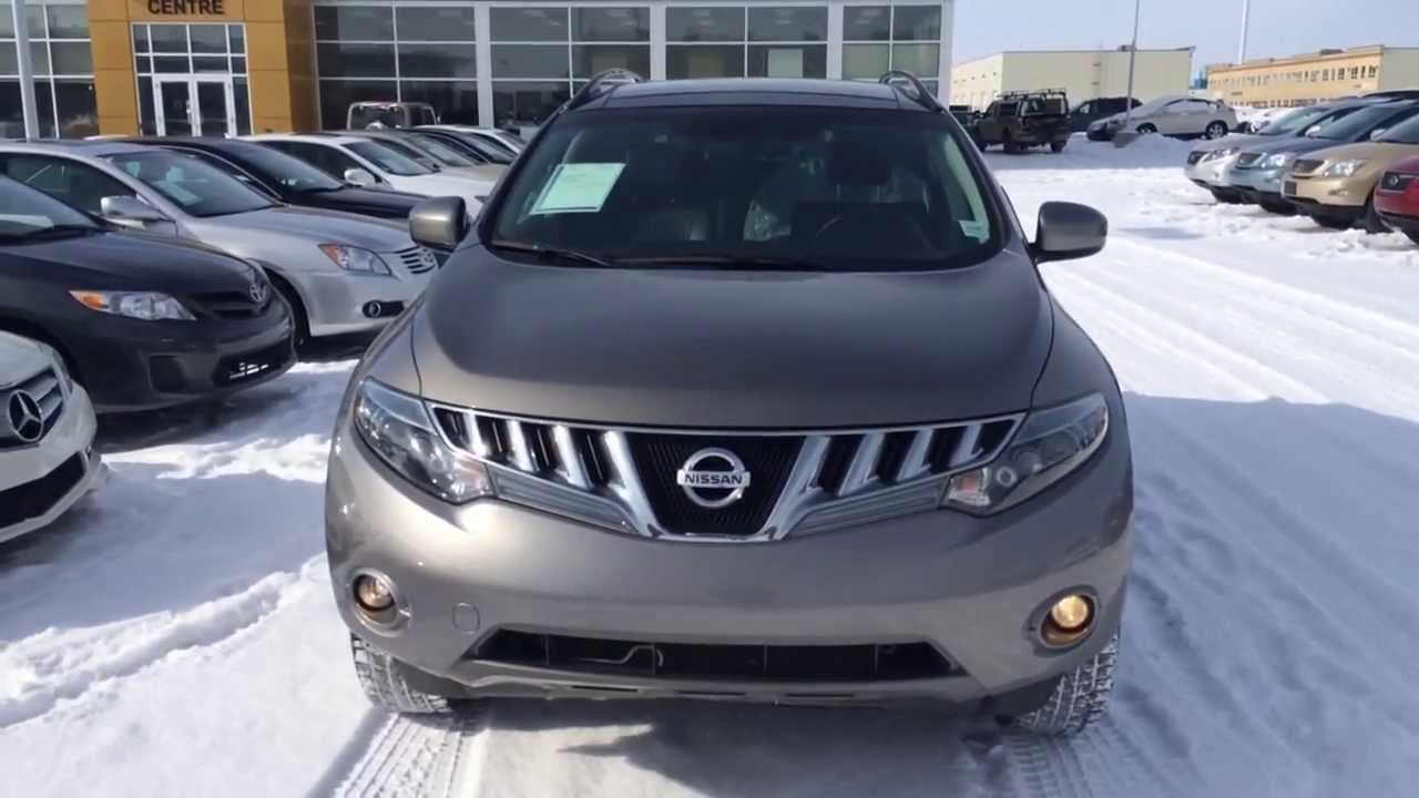 pre owned 2009 grey nissan murano le awd youtube. Black Bedroom Furniture Sets. Home Design Ideas