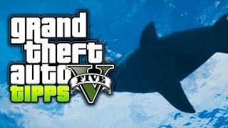 GTA 5 Tipps und Tricks - Weißer Hai / Shark Achievement erhalten