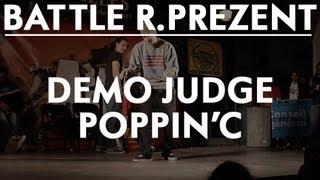 battle r prezent   demo judge poppin c
