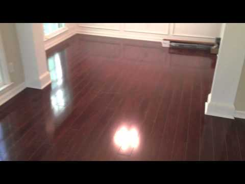 Cherry High Gloss Laminate Flooring Youtube