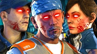 Exo Zombies SECRET STORYLINE | Characters Are DEAD ZOMBIES! (Carrier Easter Egg Intro/End Explained)