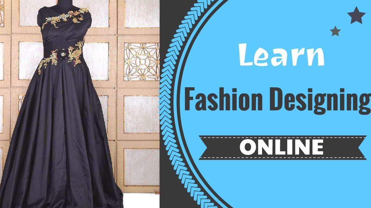 Learn ONLINE Fashion Designing Courses