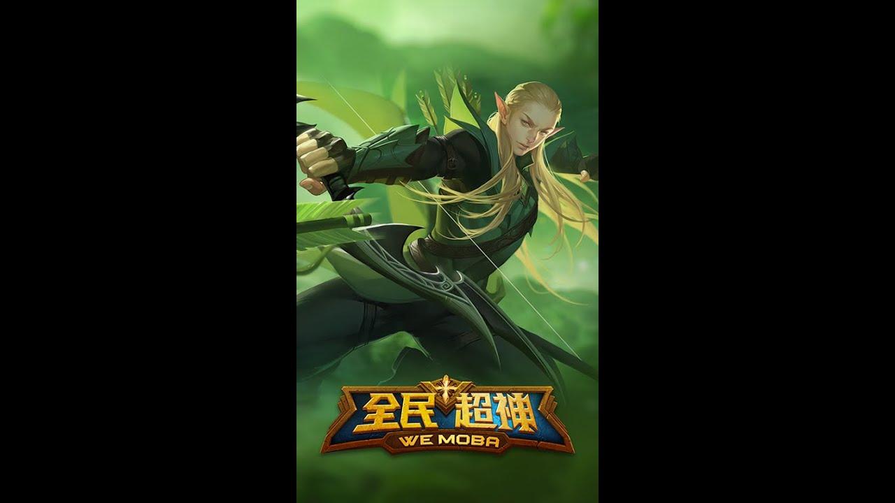 WeChat / QQ Game WE MOBA (微信 / QQ游戏《全民超神》)