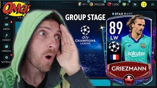 GRIEZMANN 89 OVR!!! UEFA CHAMPIONS LEAGUE GROUP STAGE NOWY EVENT FIFA MOBILE 20
