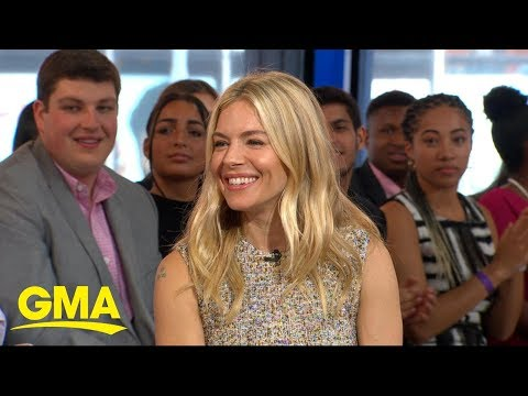 Sienna Miller on motherhood and her new movie, 'American Woman' | GMA