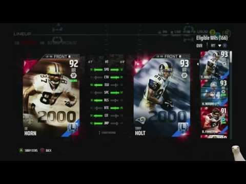 Madden 16 Ultimate Team :: We Snagged 93 Torry Holt! ::-XBOX ONE Madden 16 Ultimate Team