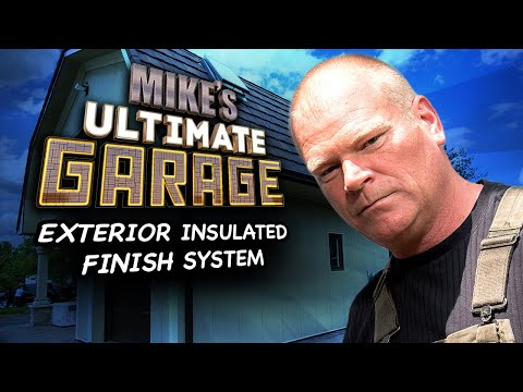 """Exterior Insulated Finish System"" - Mike's Ultimate Garage: Inside Look"