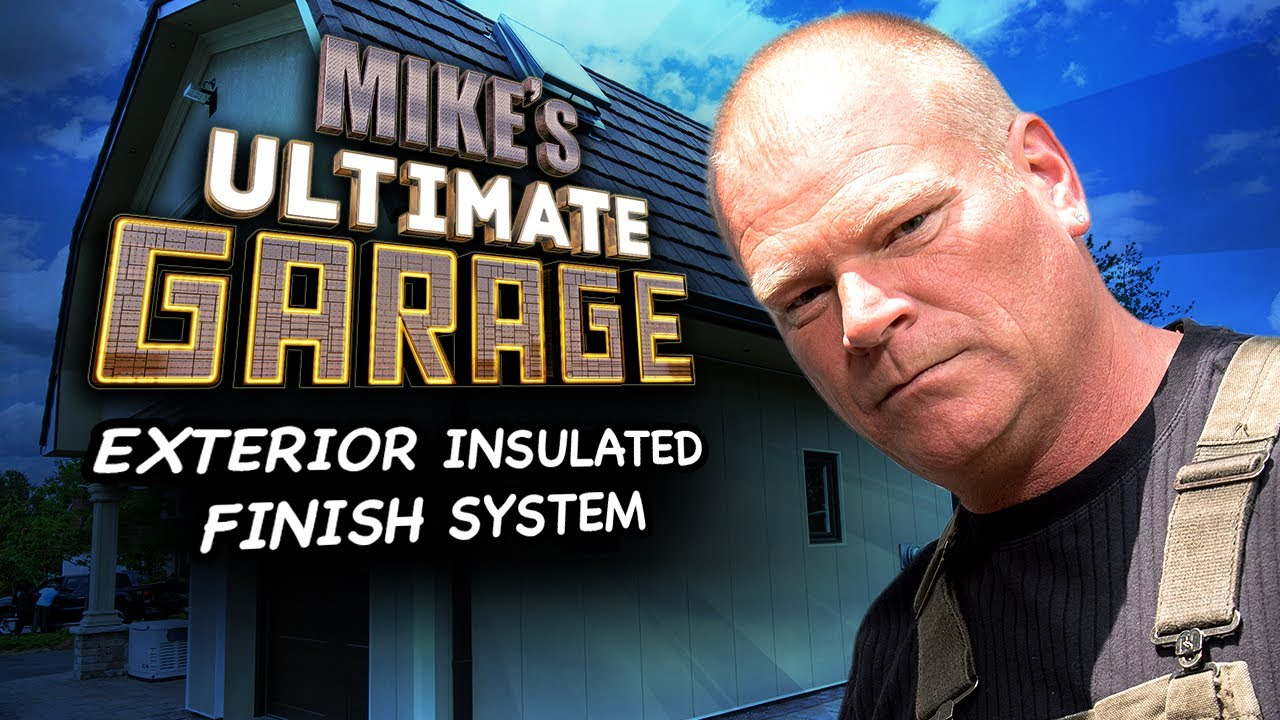 mikes garage doorExterior Insulated Finish System  Mikes Ultimate Garage Inside