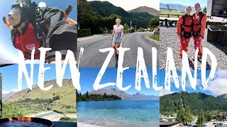15000FT SKYDIVE,  BUNGY SWING + MORE ADVENTURE!!! New Zealand Vlog