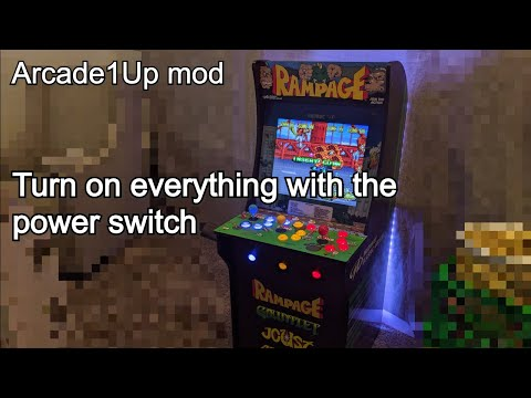Arcade1up Mod: Turn on/off EVERYTHING with the power switch from code-recipes