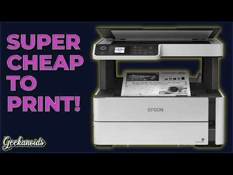 Epson EcoTank ET-M2140 Multifunction Mono Printer Review