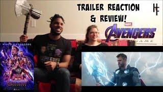 Marvel Studios' Avengers: Endgame - Official Trailer 2 reaction
