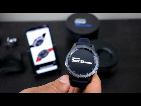 Samsung Gear S3 Frontier Unboxing & First Impressions