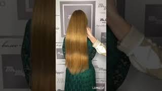 Наращивание волос на среднюю густоту