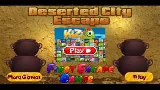 Deserted City Escape - WalkThrough FirstEscapeGames
