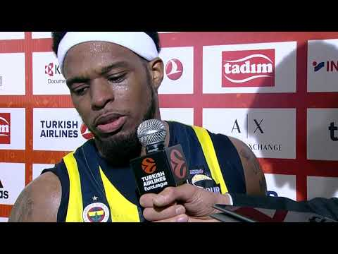 Post-game Interview: Ali Muhammad, Fenerbahce Dogus Istanbul