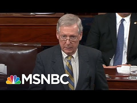 Lawrence: With 'I Object,' Mitch McConnell Owns Shutdown's Worst Harms | The Last Word | MSNBC