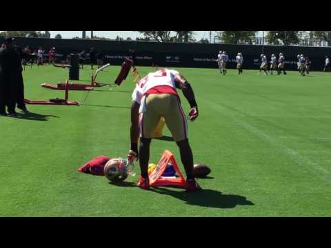 Three observations from San Francisco 49ers training camp on Sunday in Santa Clara