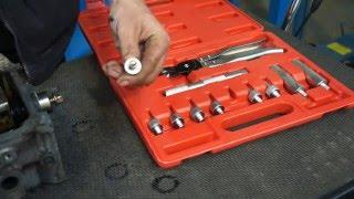 видео Оправки для установки и снятия маслоотражательных колпачков
