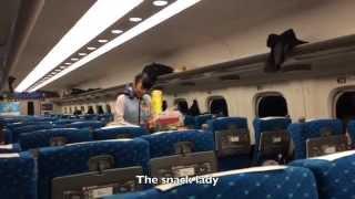 Shinkansen (Bullet Train) Tokyo to Kyoto