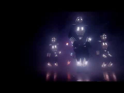 Световое лазерное Шоу в Одессе (laser Led Show Aliens)