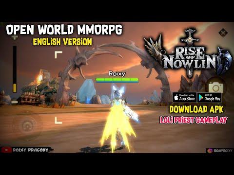 Gamenya INDAH !!! No VIP - Server SEA !!! Rise of Nowlin SEA (ENG) Android Open World MMORPG - 동영상