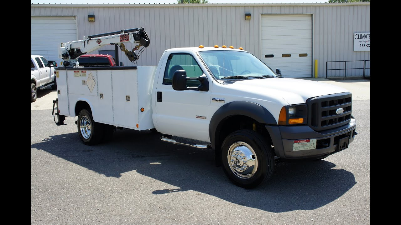 2005 ford f-450 mechanics truck utility truck service truck for sale
