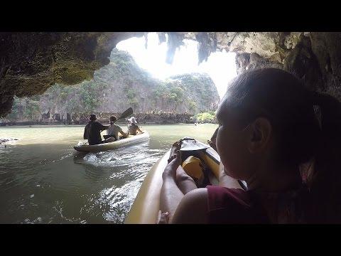 Two Sea Tour - Kayaking in Phuket, Thailand!