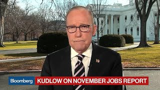 Kudlow Says China Trade Talks Going Nicely