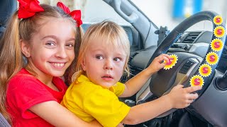 We are in the Car | The Car Song by Sunny Kids Songs