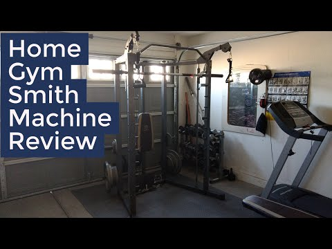 Marcy combo smith machine home gym review demo youtube