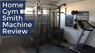 Marcy Combo Smith Machine | Home Gym |Review / Demo