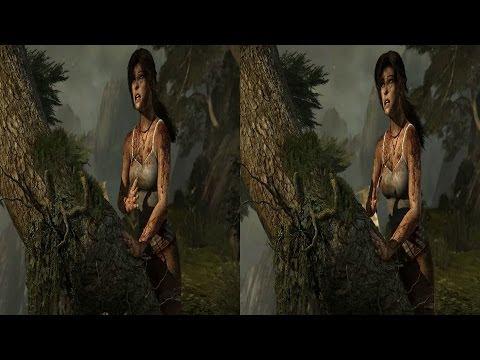 Nvidia 3D Vision - Tomb Raider