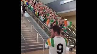 Irish Fans Arrive In Las Vegas To Support Connor McGregor!