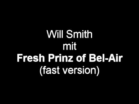 Will Smith - Fresh Prinz of Bel-Air