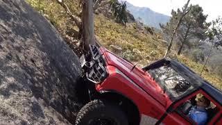ROCK CRAWLING BREGUA LAND ROVER SUBIDA ROCA ESPECIAL RUTA CORUÑA ZUMBALACAZAN 4X4