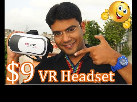 Best 3D VR Headset Under $ 9 ! Unboxing & Review