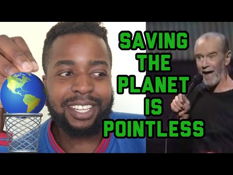 George Carlin - SAVING The Planet REACTION This is REAL Sht 😅🤦🏾♂️