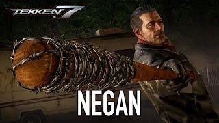 Tekken 7 - PS4/XB1/PC - Negan (Season Pass 2 Character Trailer)