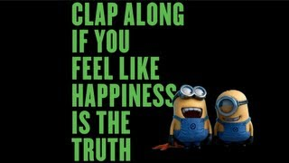 Gambar cover Pharrell Williams - Happy (Despicable Me 2 - Lyric Video)